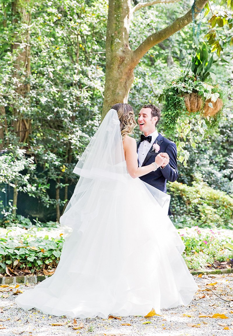 Wedding at Thomas Bennett House in Charleston Charleston wedding photographer Leah Marie Photography + Stationery
