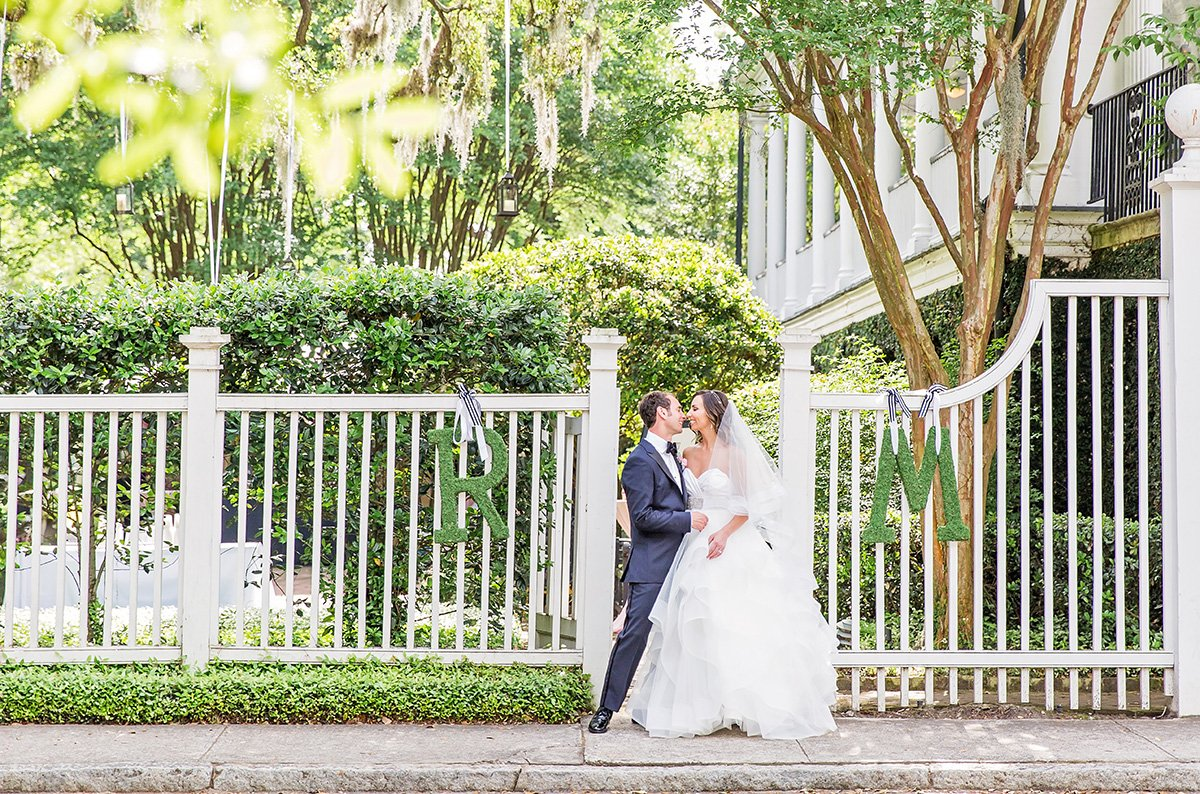 wedding dress Charleston wedding photographer Leah Marie Photography + Stationery