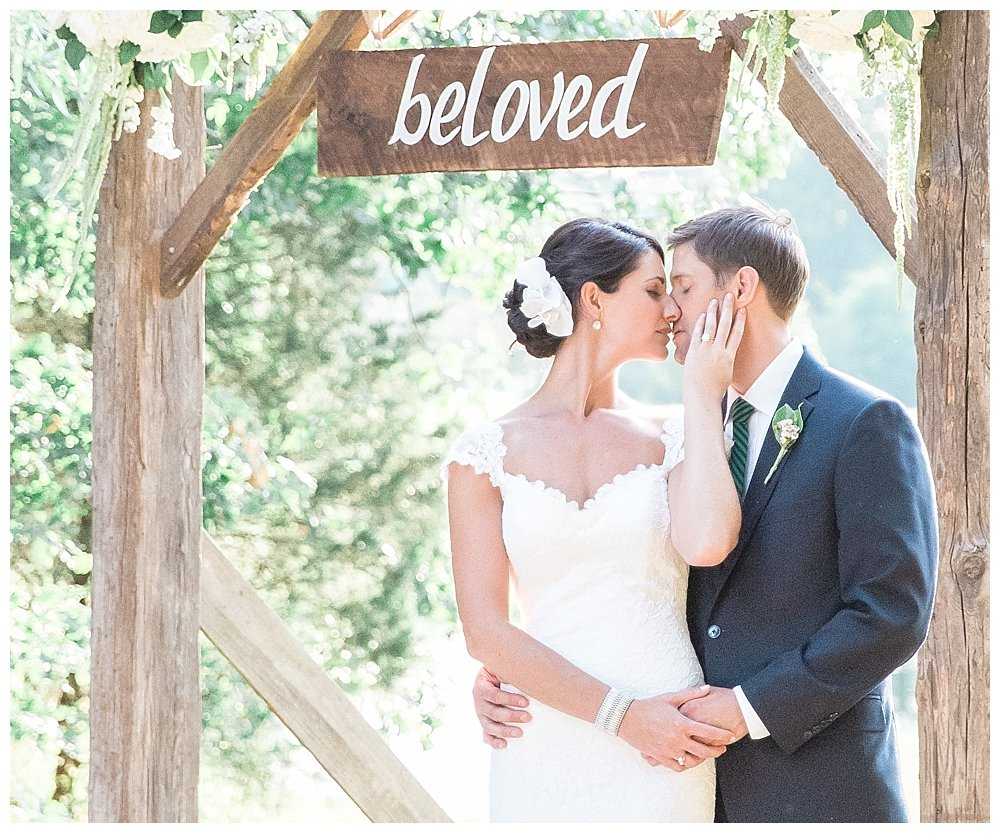 Farmhouse wood wedding signs