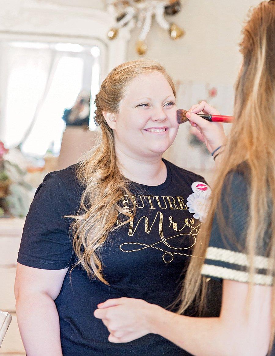 wedding makeup artist in Raleigh