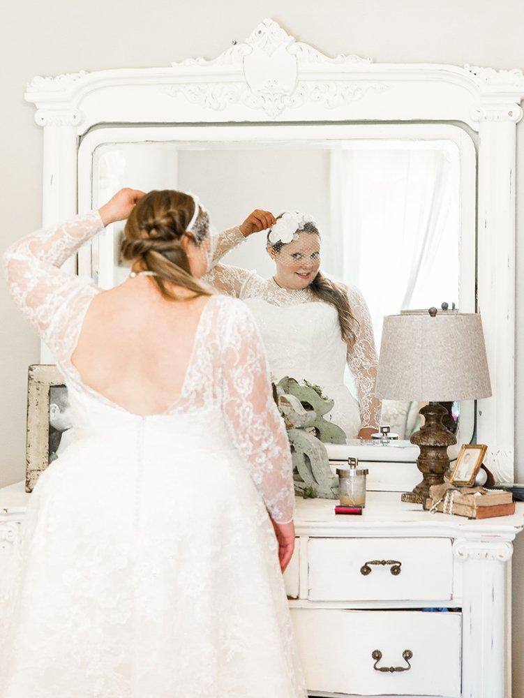 Vintage wedding dress in Raleigh