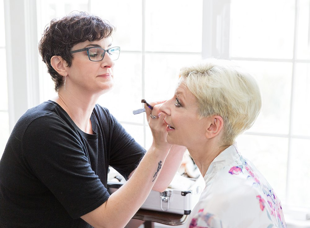Chapel Hill Makeup Artist by Leah Marie Photography + Stationery