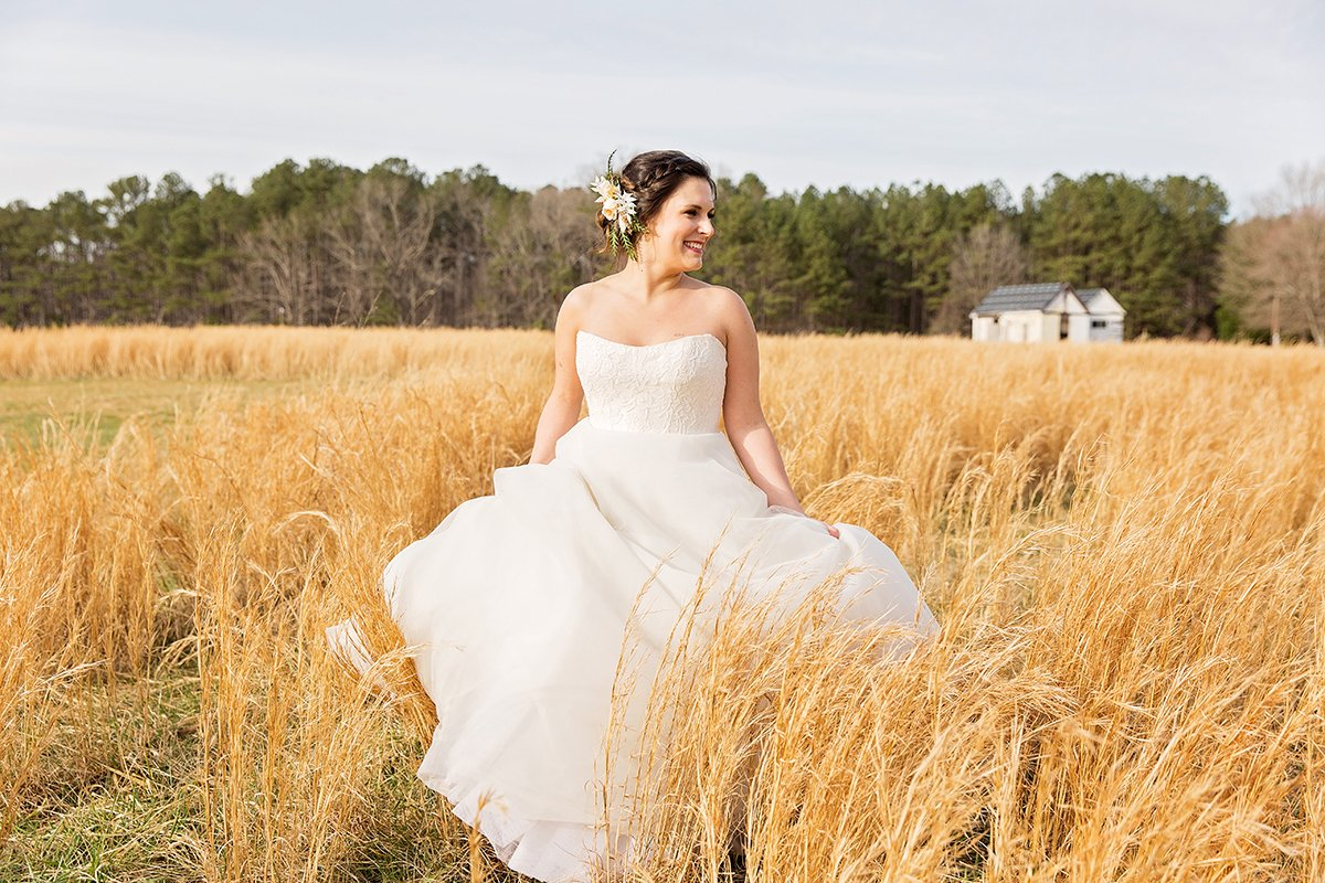 Wedding dresses photo by wedding photographer Leah Marie Photography + Stationery