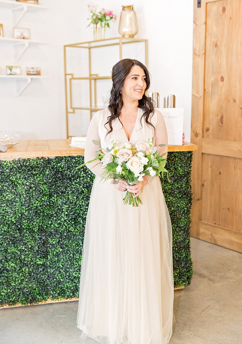 Greenhouse Picker Sisters Wedding by Leah Marie Photography + Stationery