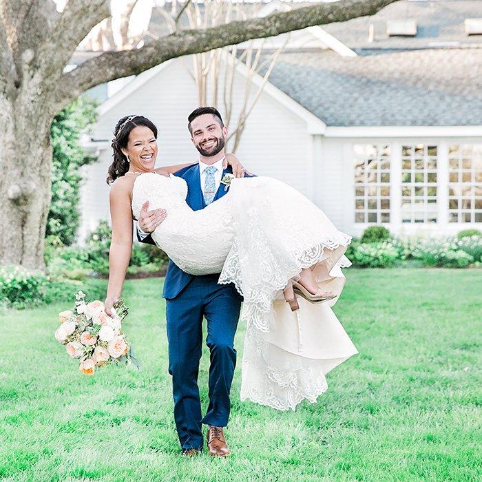 Chapel Hill Wedding Photographer At a Fearrington Village wedding