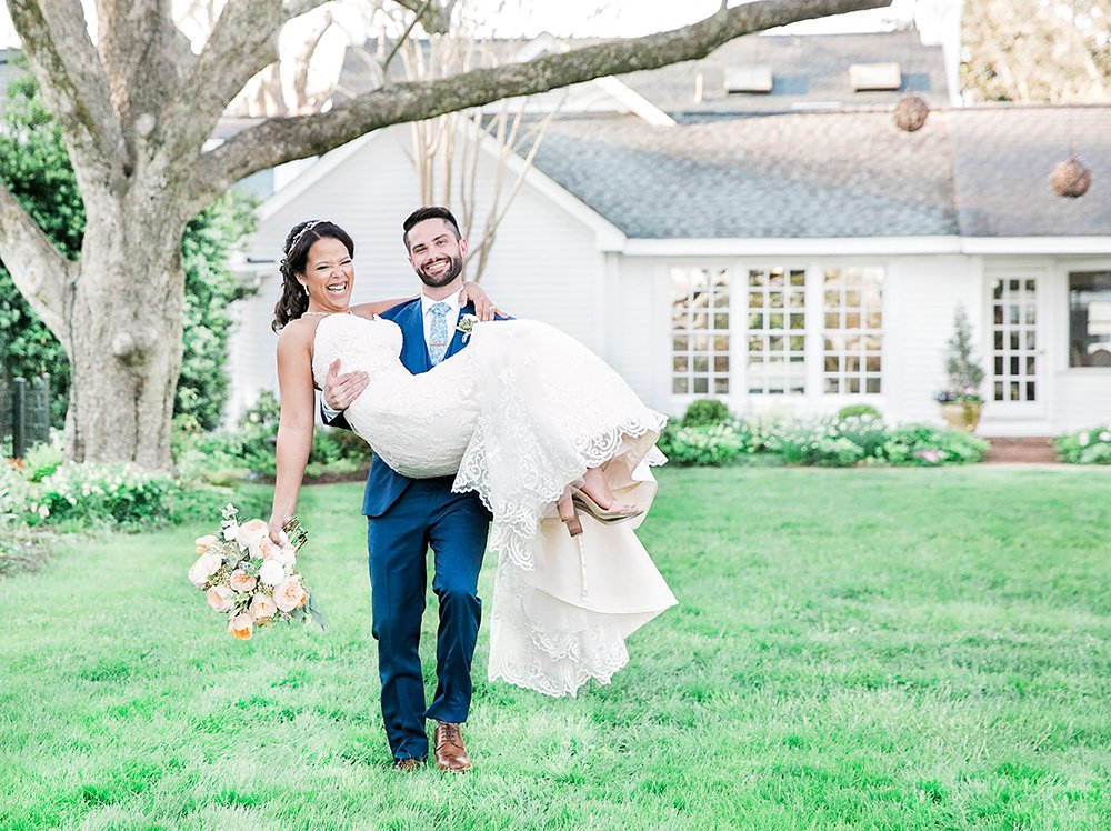 Interracial Wedding by Wedding Photographer Leah Marie Photography + Stationery