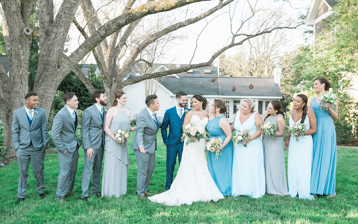 Fearrington Village Wedding Photographer Leah Marie Photography + Stationery