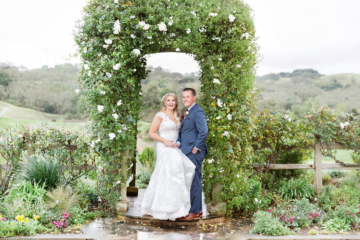 Golf Course wedding San Jose wedding photographer Leah Marie Photography + Stationery