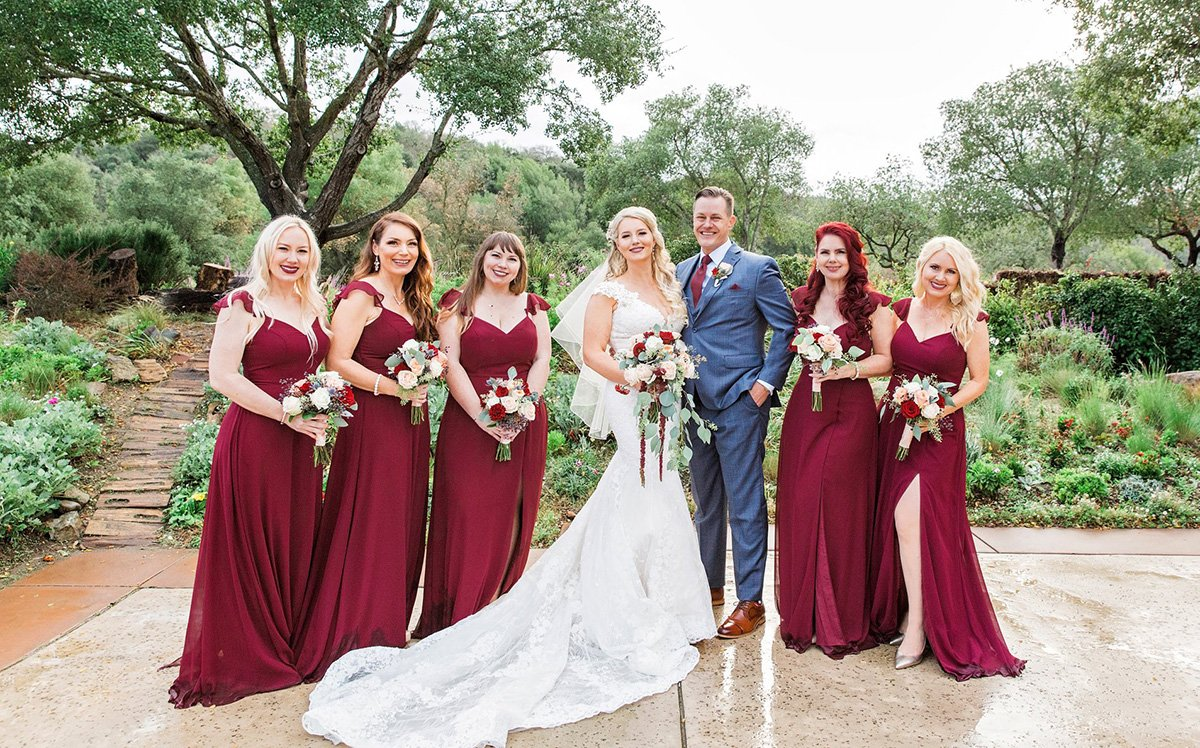 Bridesmaids San Jose wedding photographer Leah Marie Photography + Stationery