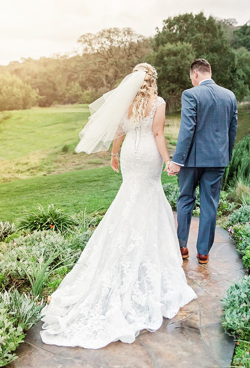 San Jose bride and groom San Jose wedding photographer Leah Marie Photography + Stationery