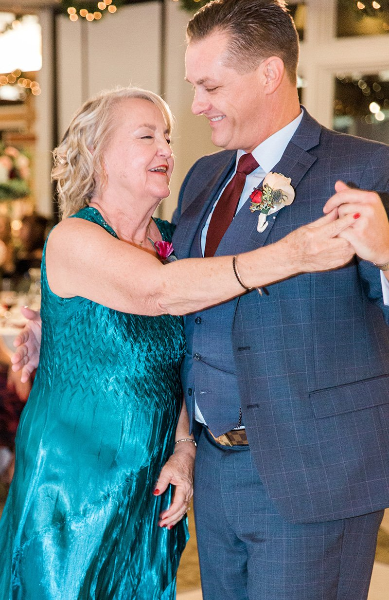 Mother of the groom wedding dance San Jose wedding photographer Leah Marie Photography + Stationery